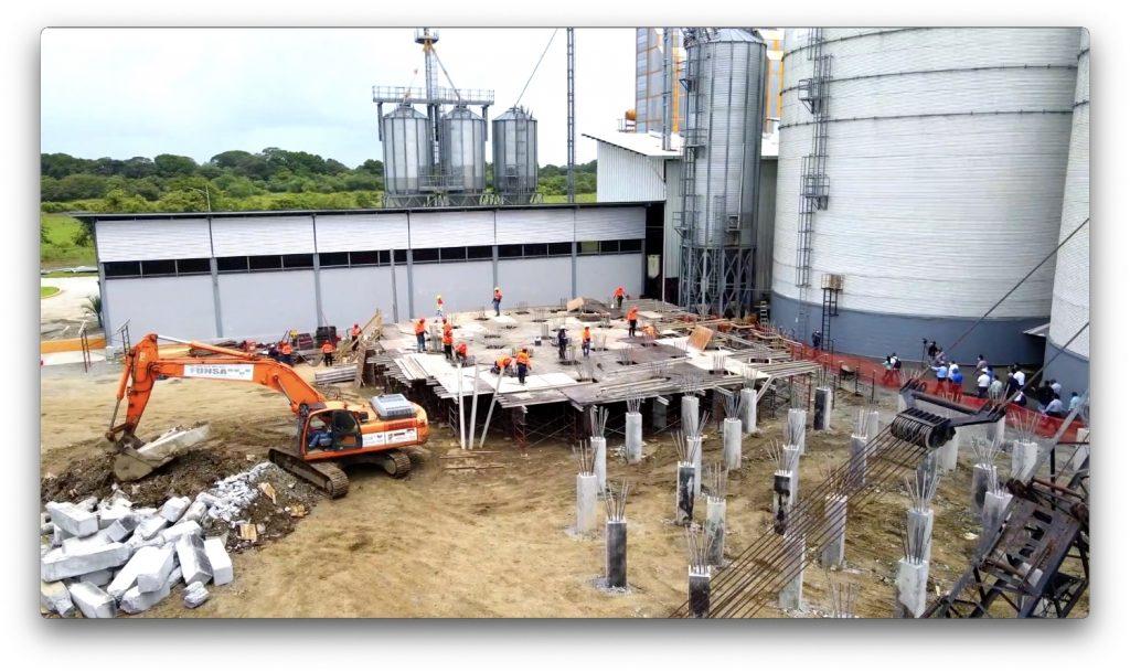 Ceremonia de Ampliación de Planta en Chepo Panamá construcción